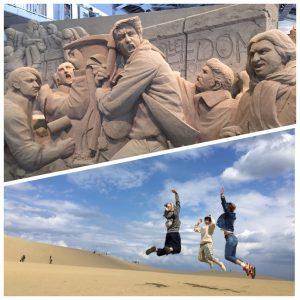 砂まみれ、、、